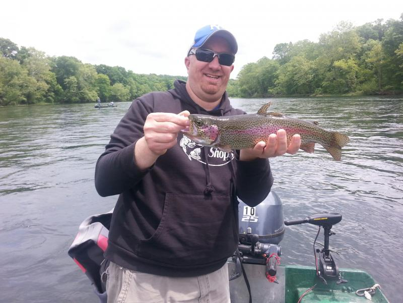 Fishing report may 15th and 16th taneycomo fishing for Taneycomo fishing report